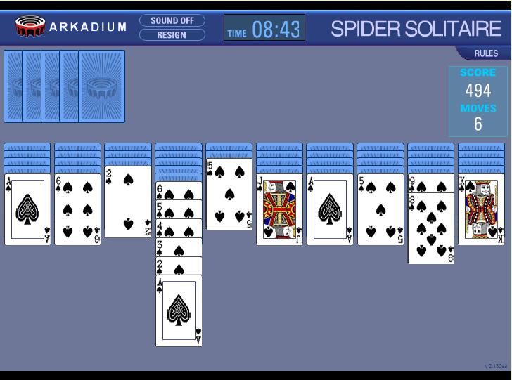 Играем в карты онлайн пасьянсы #2
